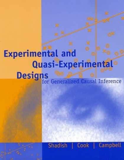 experimental design reference book quasi experimental