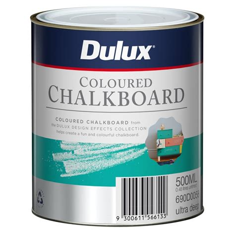 chalk paint at bunnings dulux 500ml design ultra coloured chalkboard paint