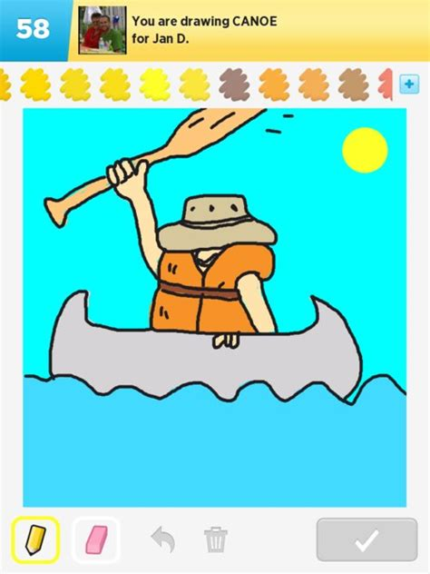 canoes drawing canoe drawings how to draw canoe in draw something the