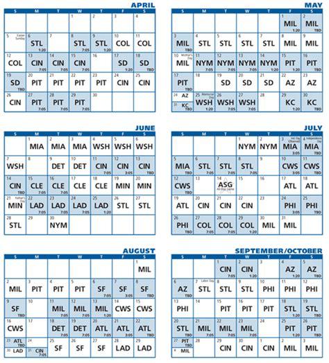 Cubs Calendar Cubs Release Tentative 2015 Regular Season Schedule