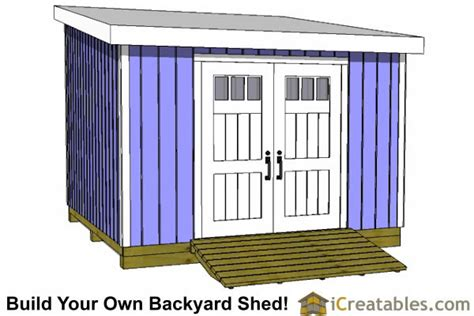 Plans For 12x12 Shed by 12x12 Shed Plans Build Your Own Storage Lean To Or