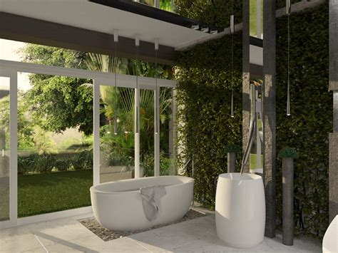 Garden Bathroom Ideas by Beautifully Unique Bathroom Designs