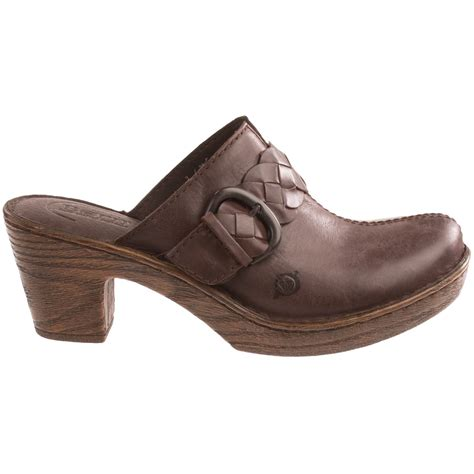 clogs for womens born emme leather clogs for 8614y save 44