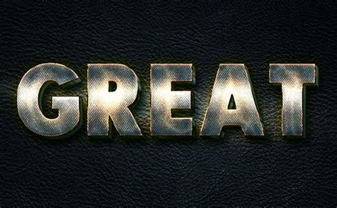 metal typography photoshop tutorial how to create a glowing metal text effect in adobe photoshop