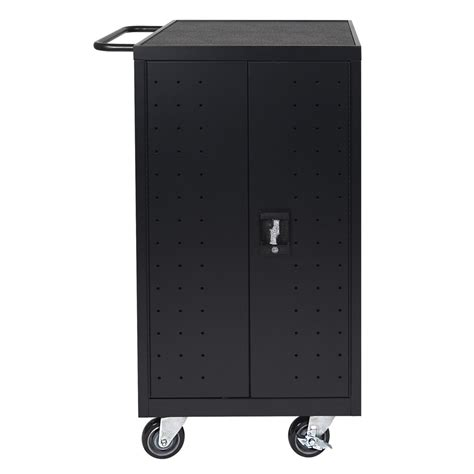 18 laptop chromebook computer charging cart from 540 00 luxor furniture lltp18 b 18 laptop charging cart w 2