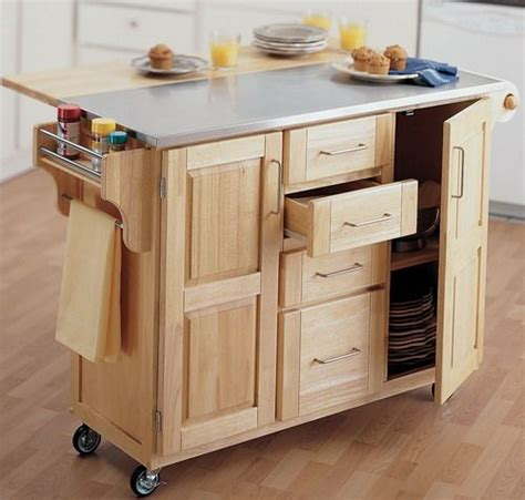 rolling island for kitchen best 25 rolling kitchen island ideas on