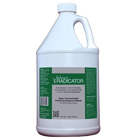 enzymatic cleaner for urine nature s eradicator concentrated pre formed enzyme cleaner mul eco living