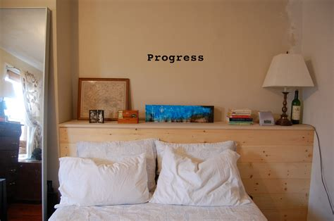 Diy Bookcase Headboard Diy Headboard With Shelves Diy Do It Your Self
