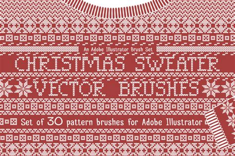 knit pattern photoshop brushes christmas sweater knit brushes brushes on creative market