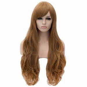 Daily Wig Rws 04 wigs slight curly sideswept bangs layer daily wig ebay