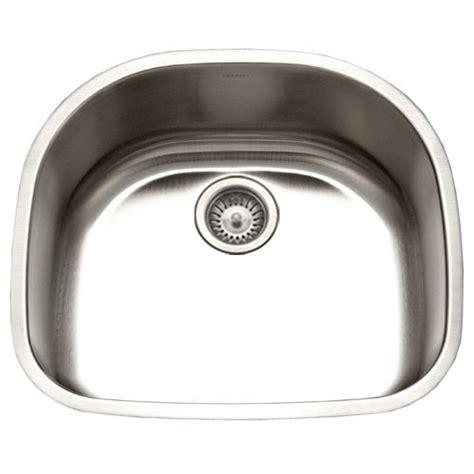 Kitchen Sink Sts Houzer Sts 1400 1 Easton Single Bowl Undermount Stainless Steel Kitchen Sink 23 11 16 By 21 Inch