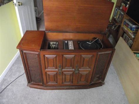 cabinet record player vintage record player cabinet vintage