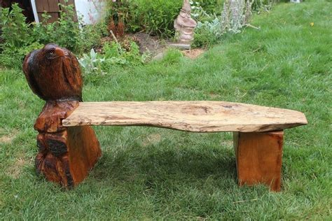chainsaw benches custom made chainsaw bench with eagle by donna maries art custommade com