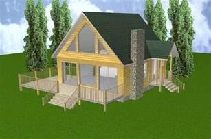 24x28 cabin w loft basement plans package blueprints