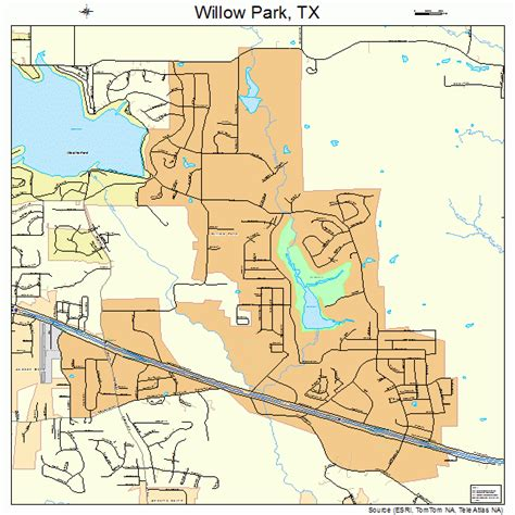willow park texas map willow park texas map 4879492