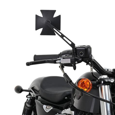 Ebay Motorrad Spiegel by Motorrad Chopper Spiegel Paar Schwarz Ebay