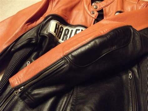 Harley Davidson 2013 Leather Light Brown List Orange black orange reflective harley leather jacket harley davidson forums