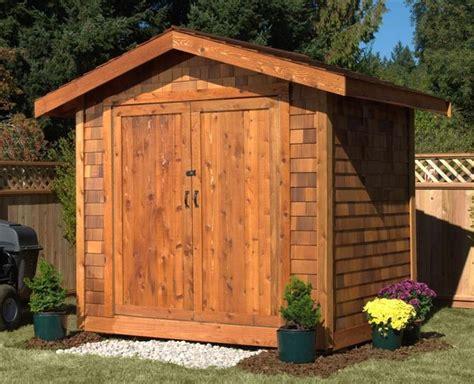 sets   cedar shed kit