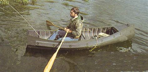 pluut platbodem castlecraft sportspal square stern canoe square end