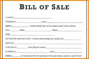 bill of sale template doc bill of sale word document vlashed