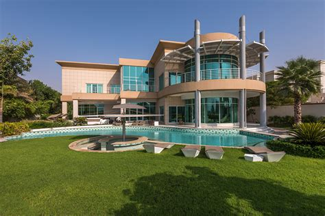 emirates hills dubai live in ultra modern luxury with this emirates hills villa