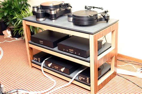 Rocky Racks by The Audio Beat Rmaf 2010 Product Silent Running Audio Scuttle Equipment Rack