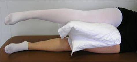 cuscino tra le gambe libretto per il paziente