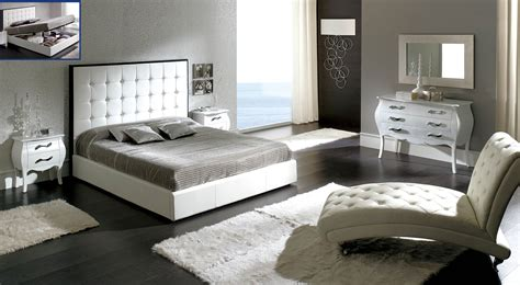 peninsula white modern italian bedroom set n modern