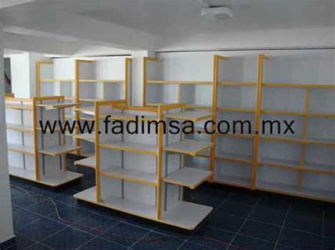 estantes para negocio anaqueles estantes repisas mostradores vitrinas para