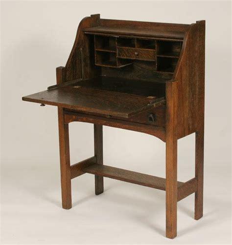 vintage writing desk antique writing desk mission oak slant top