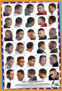 haircuts at the barbershop american black men hairstyle on pinterest black men haircuts