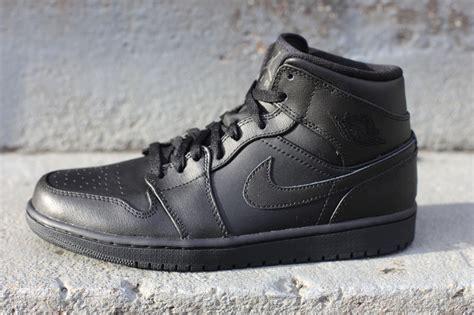 Nike Airjordan 1 Retro One Og Black Premium 1 air 1 retro mid black black sole collector
