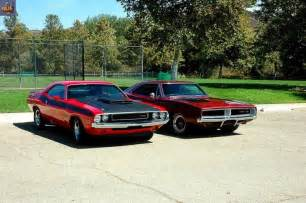 1970 dodge challenger t a and 1969 dodge charger