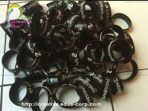 membuat gelang rubber gelang karet wristband bracelet rubber