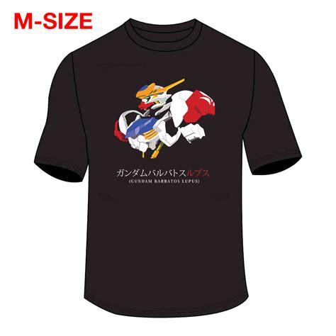 T Shirt Gundam t shirt gundam barbatos lupus t shirt m size