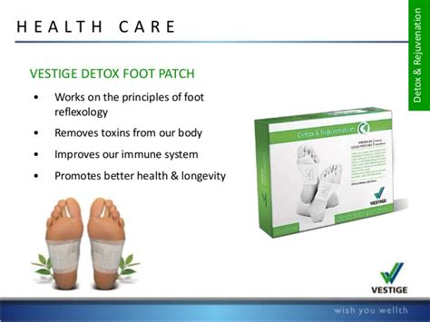 Hiwii Detox Foot Rejuvination Patches by Vestige Product List 2015