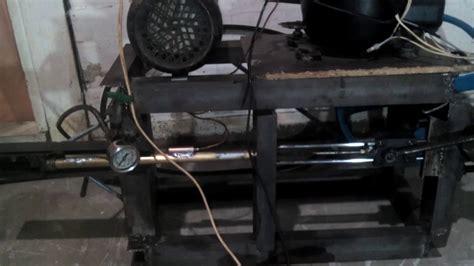Kompresor Pcp kompresor pcp buatan sendiri 3500psi dari bekas komresor kulkas by sutenggo