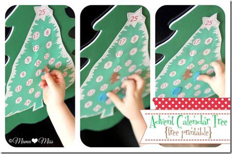 printable christmas tree calendar advent calendar tree free printable