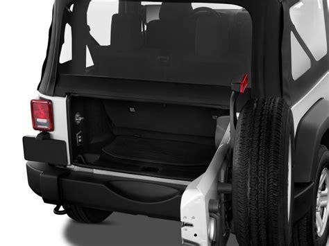 Jeep Wrangler 2 Door Trunk Space Image 2014 Jeep Wrangler 4wd 2 Door Sport Trunk Size
