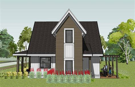 small house design for modern and traditional model for
