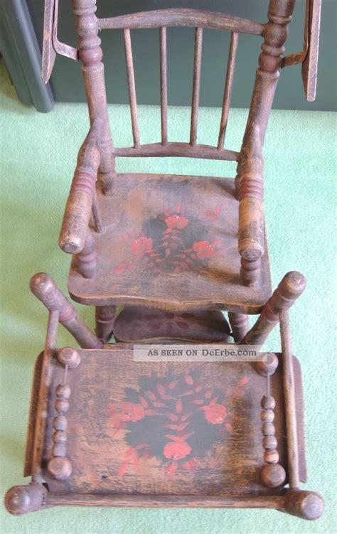 stuhl umbauen alter puppenhochstuhl zum umbauen aus holz mit