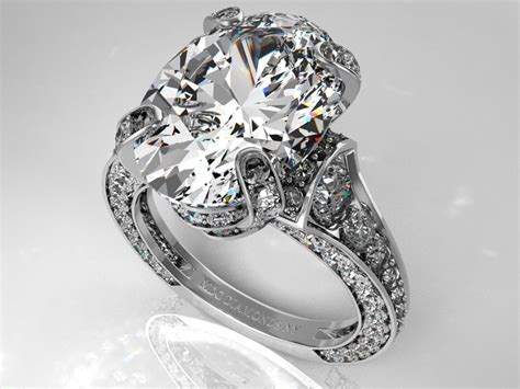 engagement ring large oval from mdc diamonds oval
