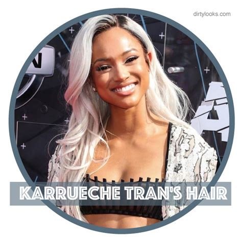 what hair products does karruche tran use karrueche tran s hair hair extensions blog hair