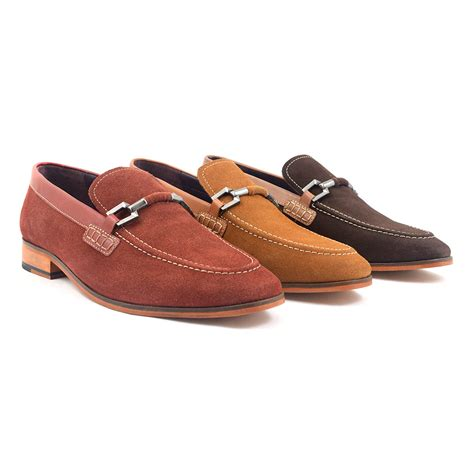 buy loafers for buy brown suede buckle loafer loafers for gucinari