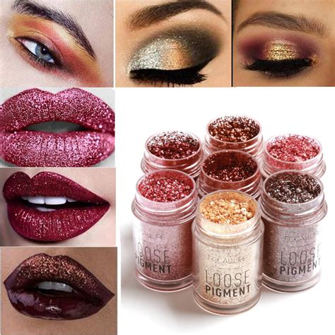 Makeup Focallure focallure eye shadow shimmer metallic pigment powder