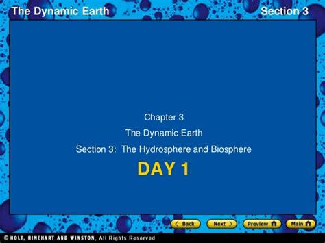 Chapter 3 The Biosphere Section Review 3 1 by Chapter 3 Section 3