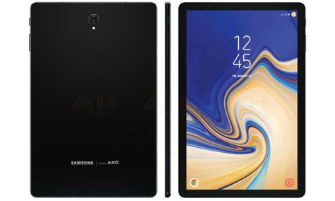 4 Samsung Galaxy Tab S4 Samsung Galaxy Tab S4 With 10 5 Inch Wqxga Display Surfaces In Press Images Update New Image