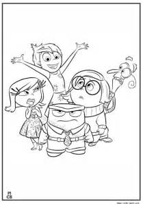 coloring pages to print out inside out coloring coloring pages