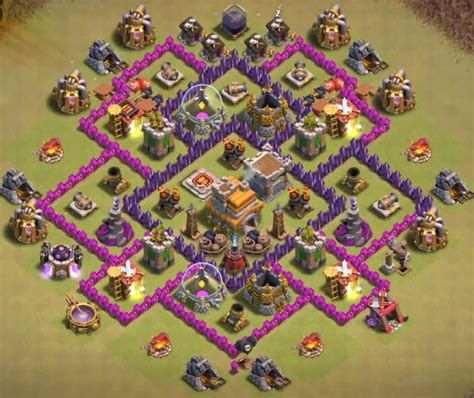 best clash of clans defence 7 hd image town hall 7 war defense www pixshark com images