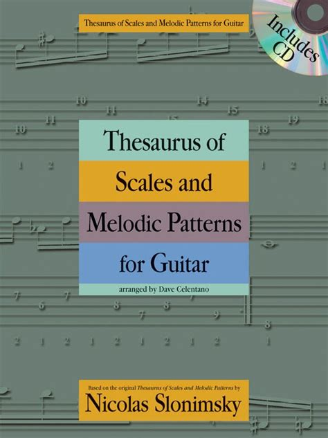 pattern thesaurus thesaurus of scales and melodic patterns by nicolas